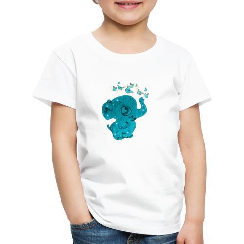Elefante - Maglietta Premium per bambini