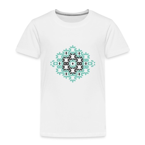triangle geometry 4000 X 4000 px - T-shirt Premium Enfant