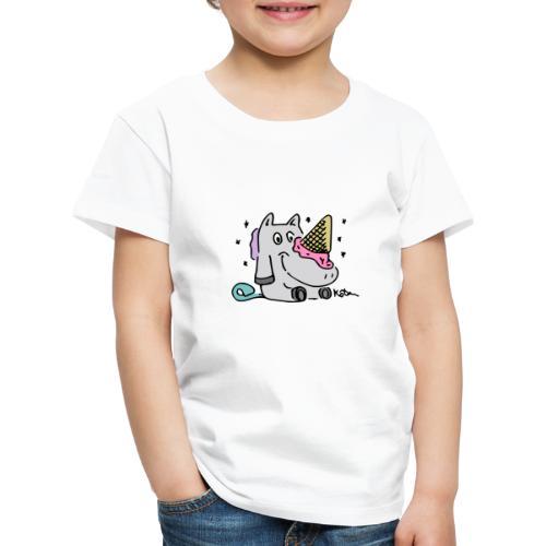 Eis Einhorn - Kinder Premium T-Shirt