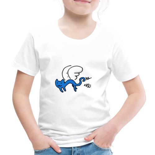 Fliegendes Kätzchen - Kinder Premium T-Shirt