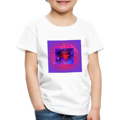 Tropical Summer Nights - Kids' Premium T-Shirt