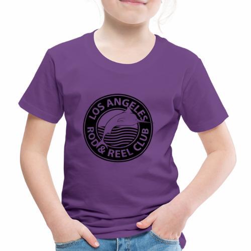 Black Los Angeles Rod And Reel Club - Kinder Premium T-Shirt