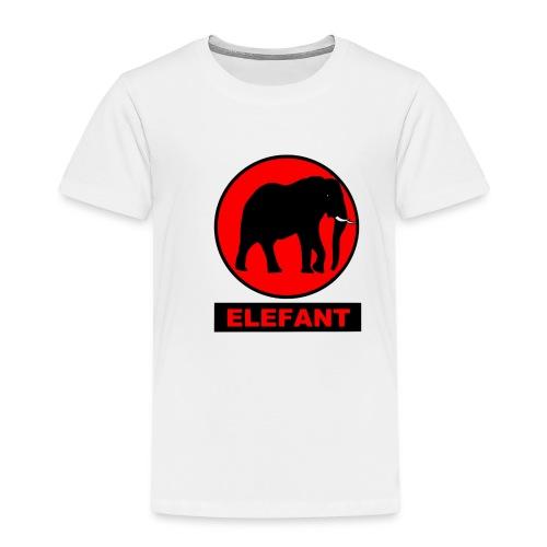elefant rot - Kinder Premium T-Shirt