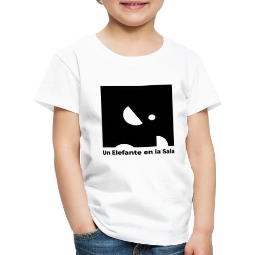 Logo Elefante Negro - Camiseta premium niño