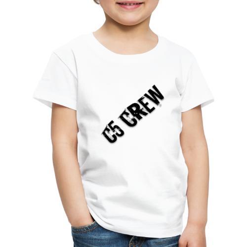 C5 CREW - Kinder Premium T-Shirt