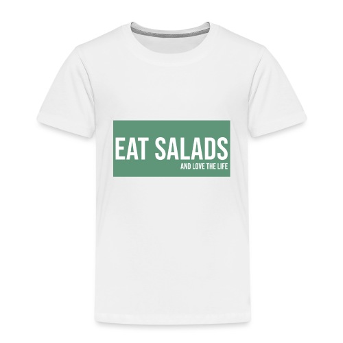 eat salade and love the life food green - T-shirt Premium Enfant
