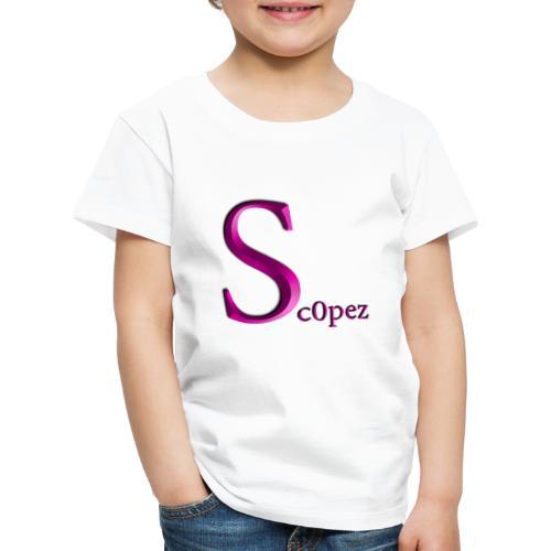 Sc0pez Merch - Kinder Premium T-Shirt