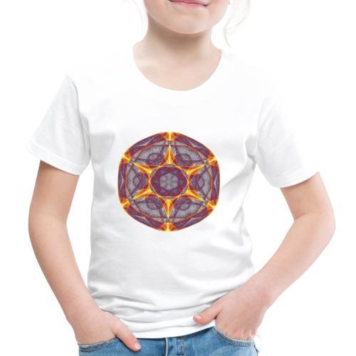 Star Poinsettia Mandala Lucky Star 9401I - Kids' Premium T-Shirt