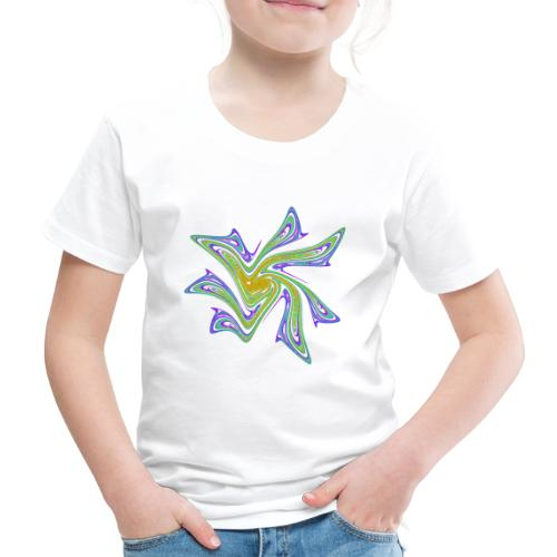 Seestern Seeigel Meerestiere Ozean Chaos 2721grbw - Kinder Premium T-Shirt
