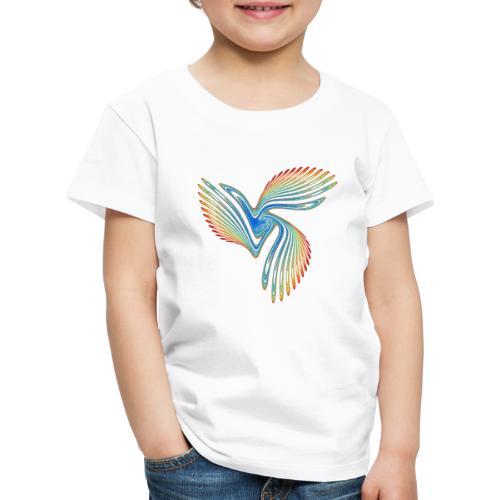 Vogel Paradiesvogel Kakadu Ikarus Chaos 2944j - Kinder Premium T-Shirt