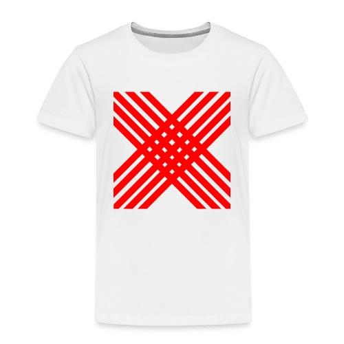 X de rallas - Camiseta premium niño