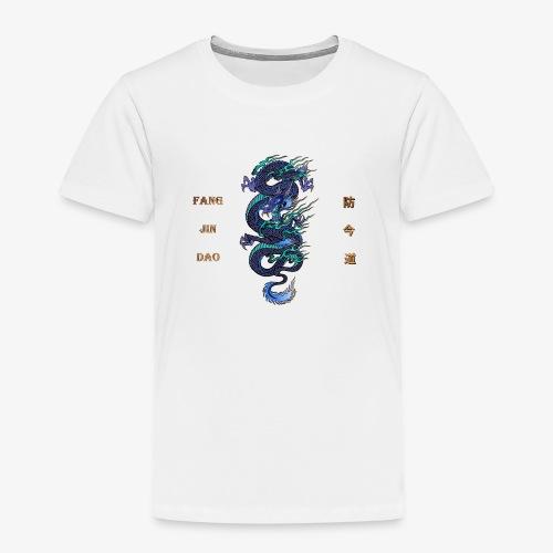 Fang Jin Dao Schrift mit Drachen png - Kinder Premium T-Shirt