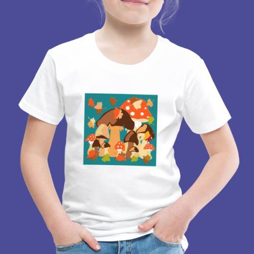 Pilze - Kinder Premium T-Shirt
