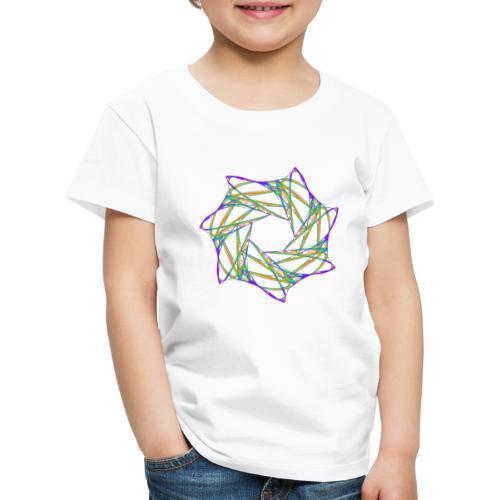Chakra Mandala Mantra OM Chaos Stern 12088grbw - Kinder Premium T-Shirt