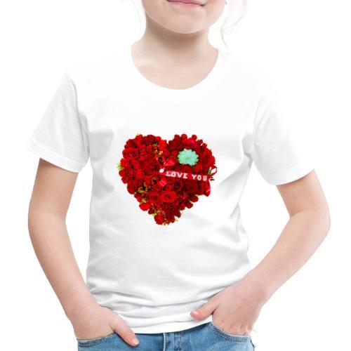 Love is Flower - T-shirt Premium Enfant