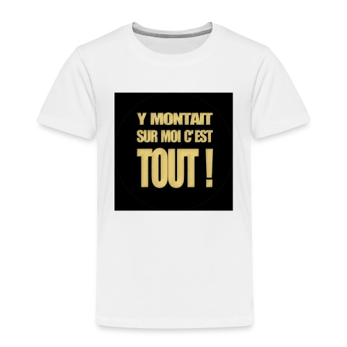 badgemontaitsurmoi - T-shirt Premium Enfant