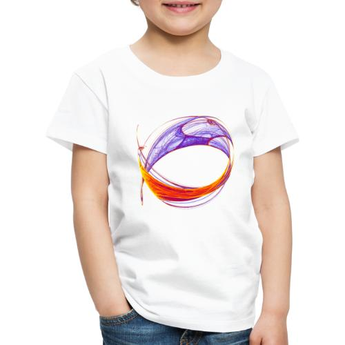 Watercolor art graphic painting picture chaos 13813bry - Kids' Premium T-Shirt