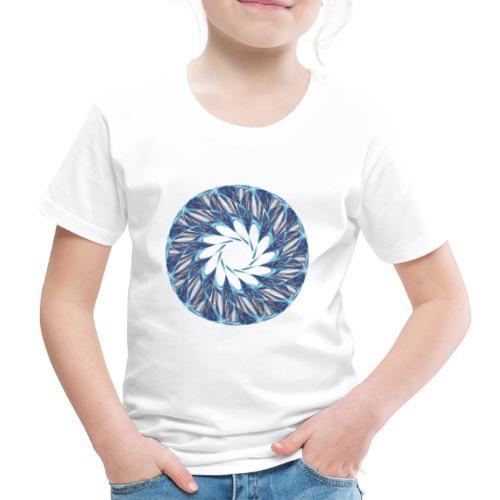 Chakra Mandala Mantra OM Chaos Stern Kreis 12235ic - Kinder Premium T-Shirt