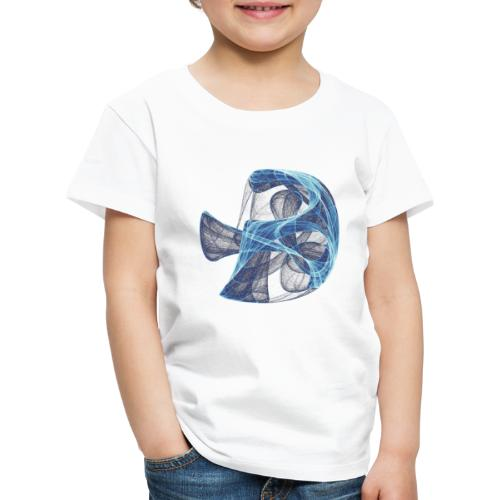 Watercolor art graphic painting picture chaos 13834 ice - Kids' Premium T-Shirt