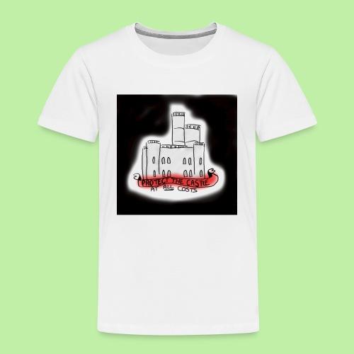 protect the castle - Kids' Premium T-Shirt