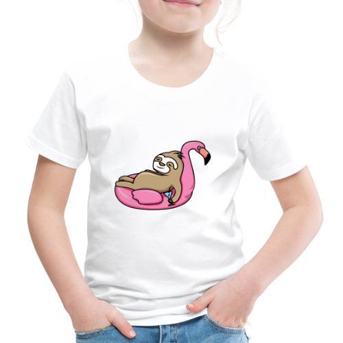 Faultier - Kinder Premium T-Shirt