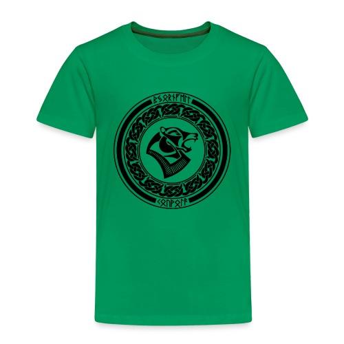BjornfellRisingBlack - Lasten premium t-paita
