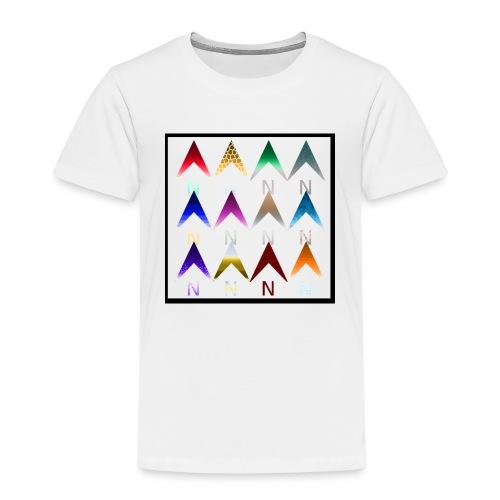 Noordpijlen - Kinderen Premium T-shirt