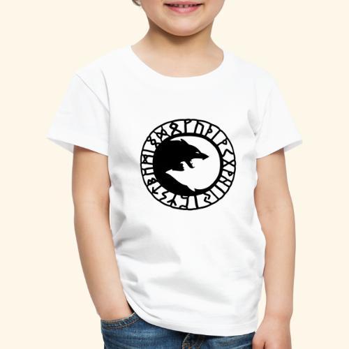 loup_runes_flocage - T-shirt Premium Enfant