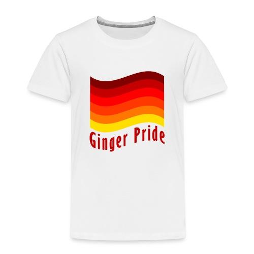 Ginger Pride flag Dark png - Kids' Premium T-Shirt