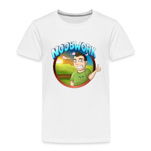 Noobwork Sunset - Premium T-skjorte for barn