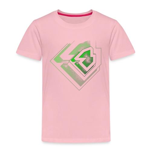 BRANDSHIRT LOGO GANGGREEN - Kinderen Premium T-shirt