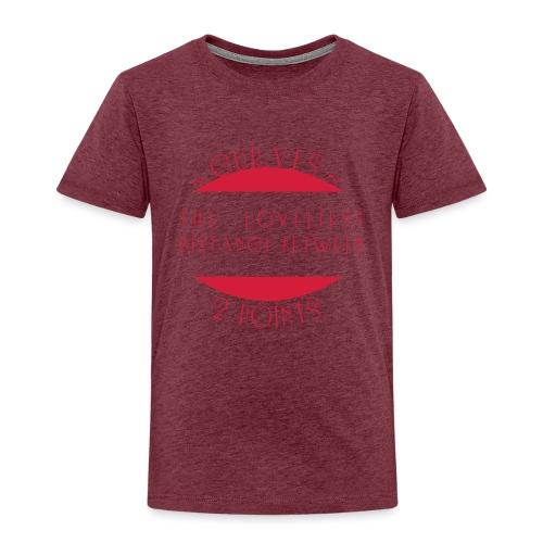 Curves - Lasten premium t-paita