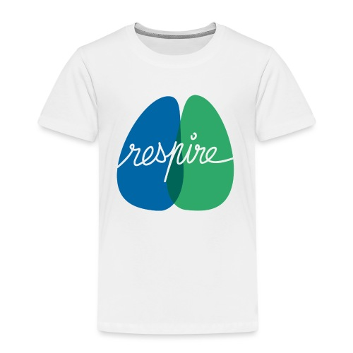 T-shirt de l'association Respire (coupe homme) - T-shirt Premium Enfant