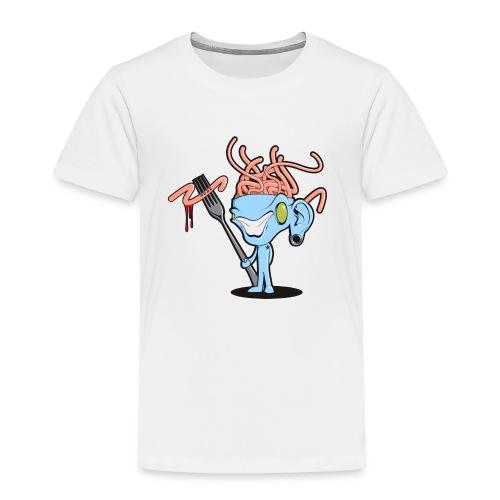 Spaghetti Brain - Kinderen Premium T-shirt
