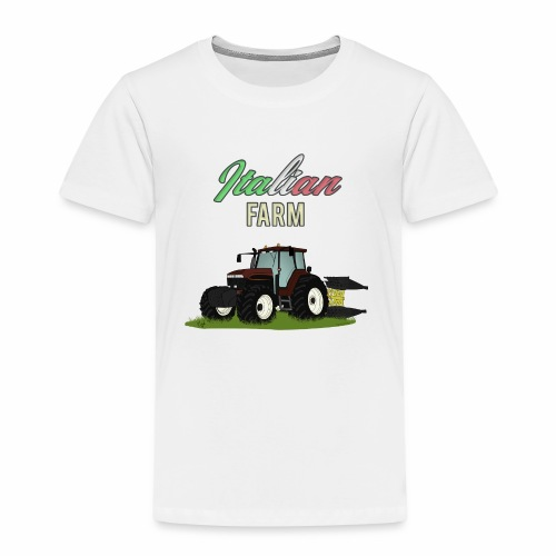 Italian Farm official T-SHIRT - Maglietta Premium per bambini