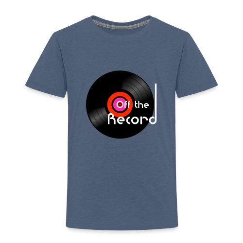Off the Record - Lasten premium t-paita