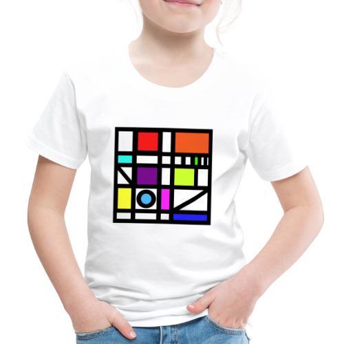 Squares - Kids' Premium T-Shirt