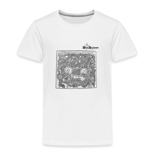 Transparent Beastie - Kids' Premium T-Shirt