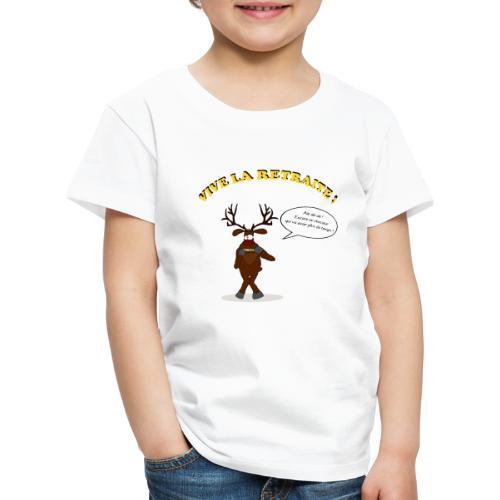 retraite de chasseur - T-shirt Premium Enfant