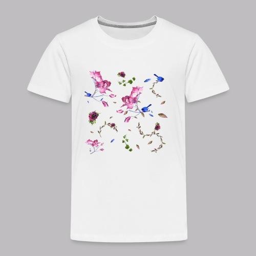 spring pattern - Maglietta Premium per bambini