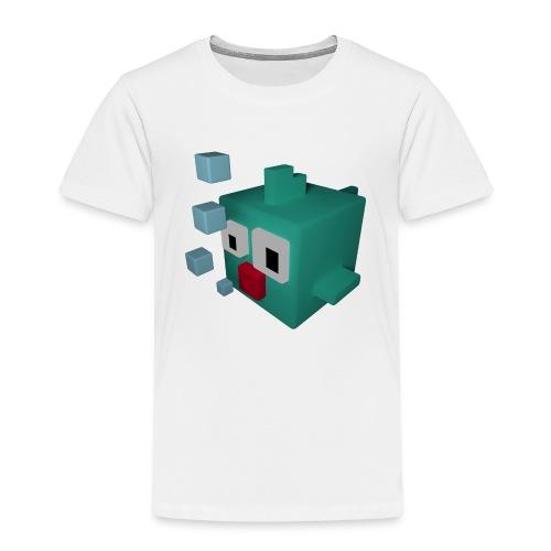 Süsser kleiner Würfelfisch - Kinder Premium T-Shirt