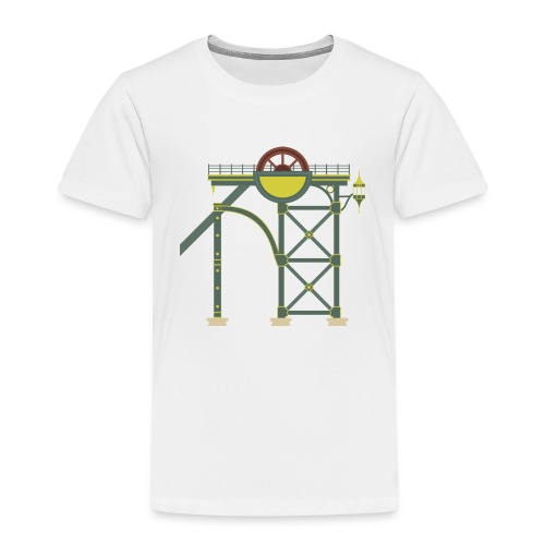 Themepark Mine Tower - Kids' Premium T-Shirt