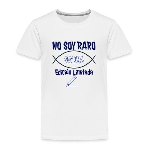 Edicion limitada - Camiseta premium niño