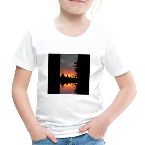 Morgenrotdrama Small - Kinder Premium T-Shirt