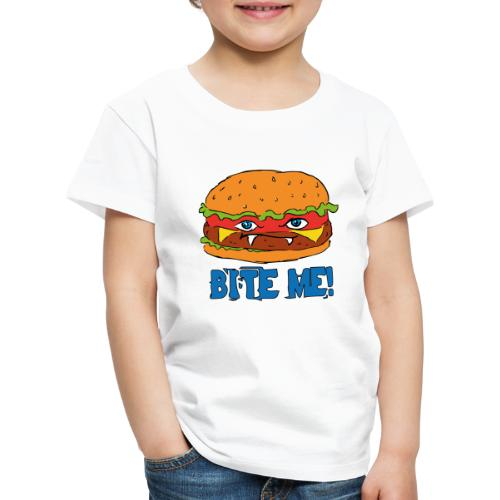 Bite me! - Maglietta Premium per bambini