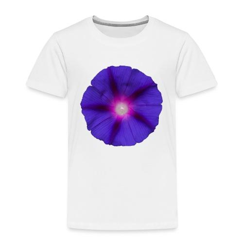 Trichterwinde Lila - Kinder Premium T-Shirt