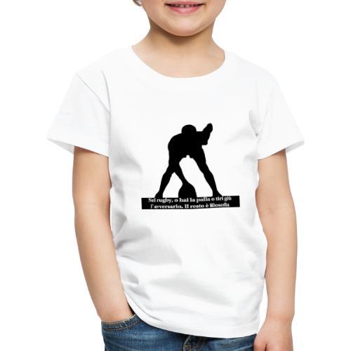 Rugby - Maglietta Premium per bambini