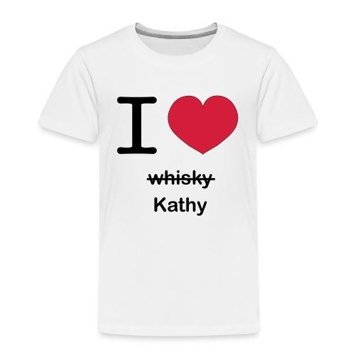 ilovekathy - Kinderen Premium T-shirt