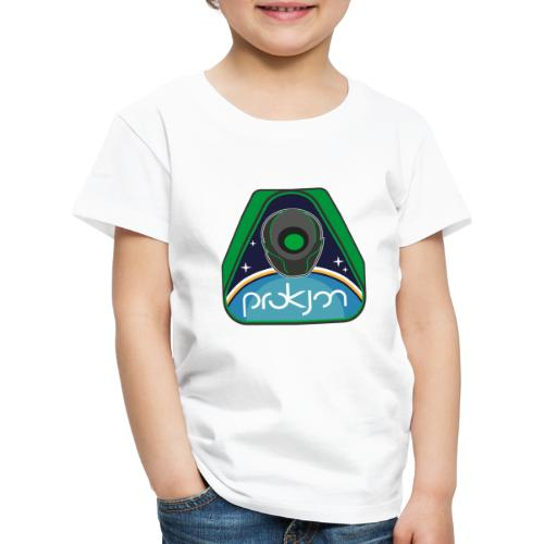Space Emblem Design - Kinder Premium T-Shirt