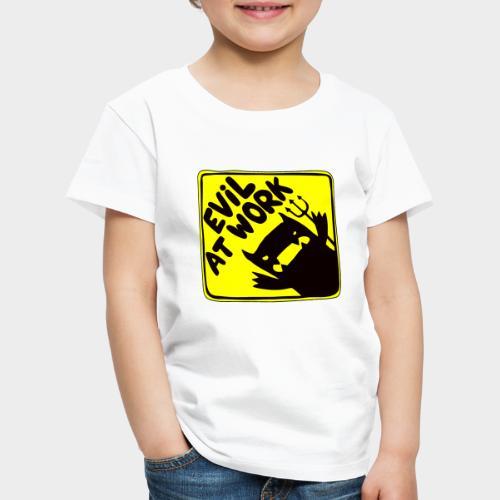 Evil at work - Camiseta premium niño